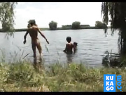 People fucking on nude beach vintage video